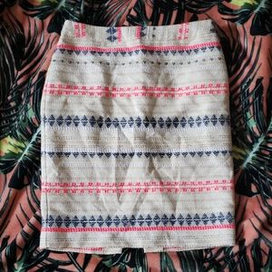 TRINA TURK Tribal Pencil Skirt Size 10